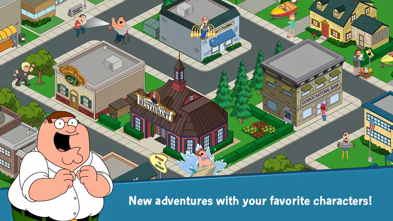 Family Guy The Quest for Stuff v1.11.5 Mod