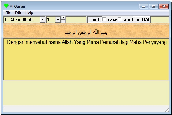 Al Quran Portable Arab Indonesia