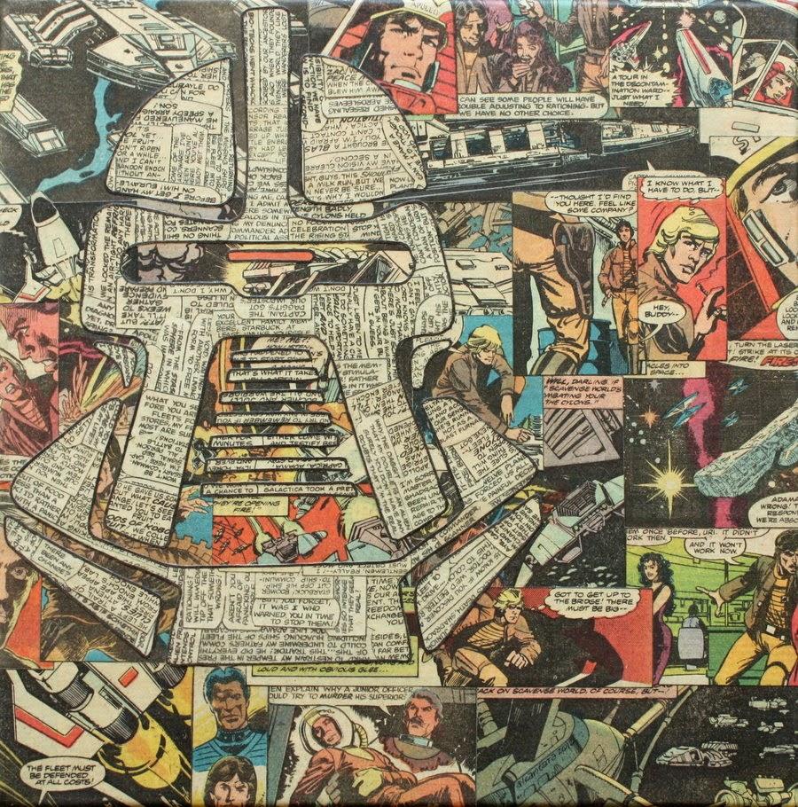 02-Cylon-BSG-Mike-Alcantara-Comic-Collage-Art-www-designstack-co