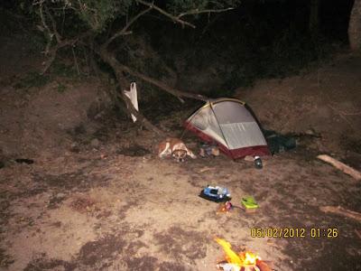 tent camping Nicaragua