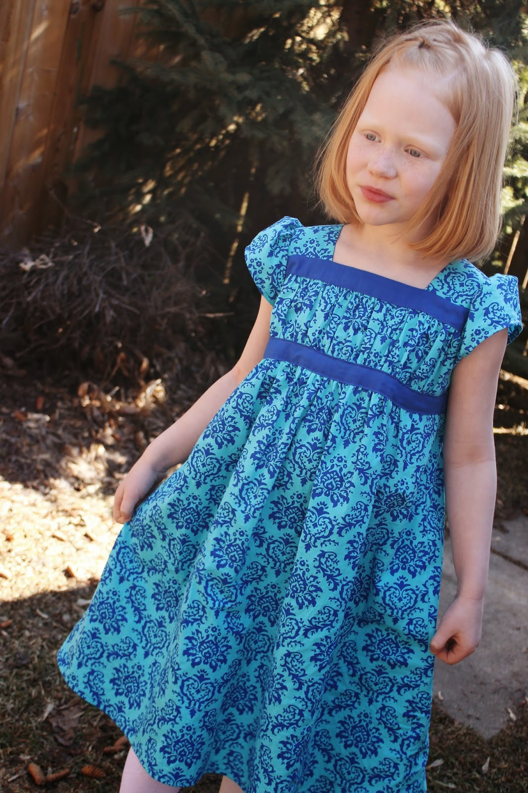 Making More with Less: Sophie\'s Garden Party Dress