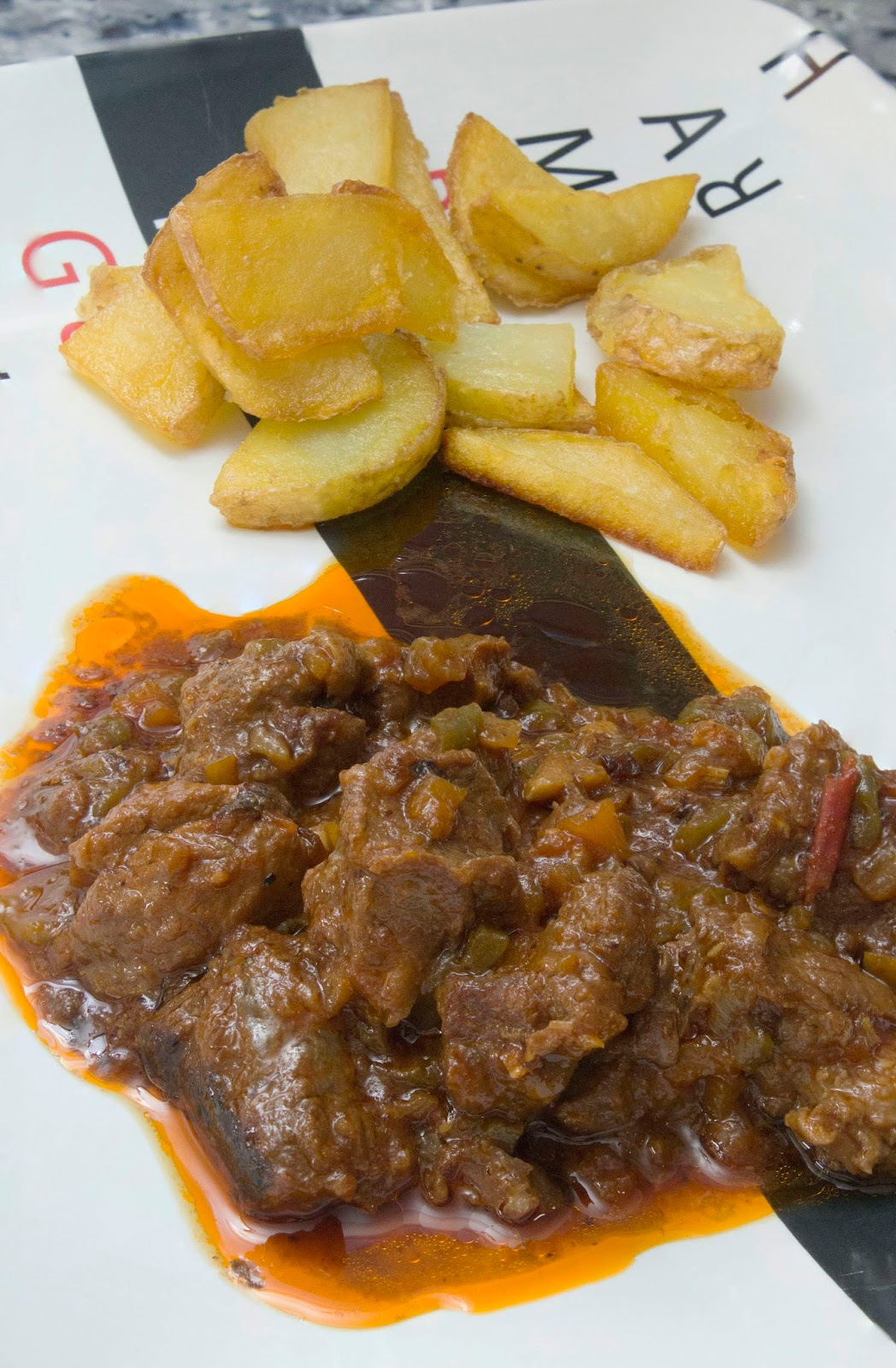Carne al toro o ragut de ternera en olla express el ba l for Cocinar con olla express