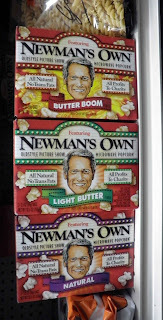 pop corn Newman's Own America