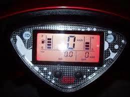skema    kelistrikan    motor  skema speedometer digital motor