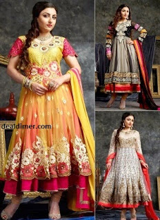 Style DIVA 2 Wedding Collection Dress Material by HIBA