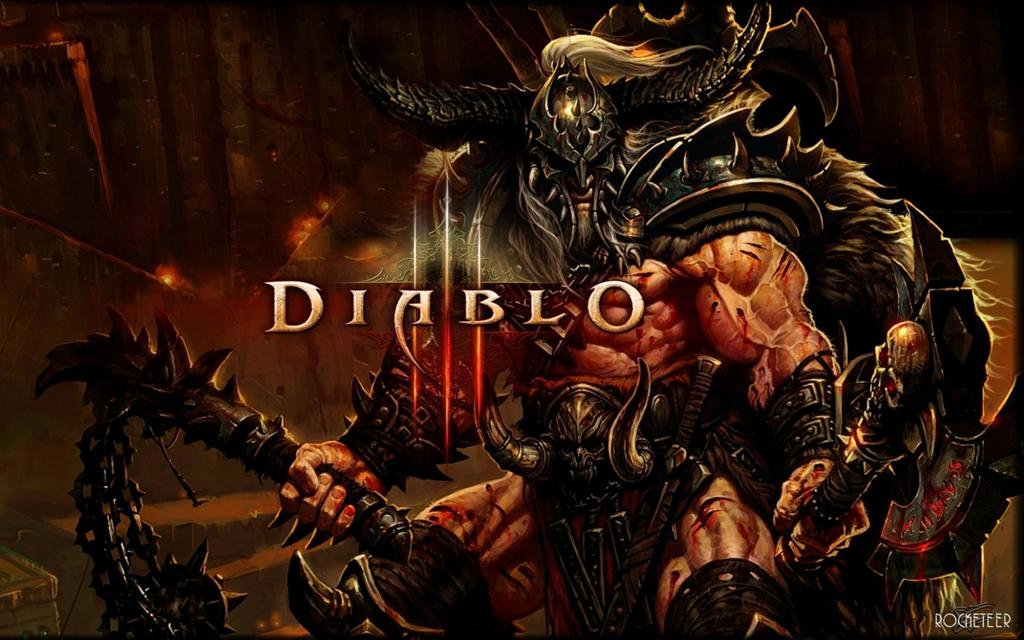 Diablo HD & Widescreen Wallpaper 0.110492711621082