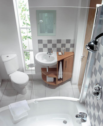 Simple Bathroom Design Back 2 Home
