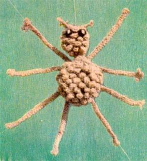 Как сплести паучка в макраме? Схема плетения паука.