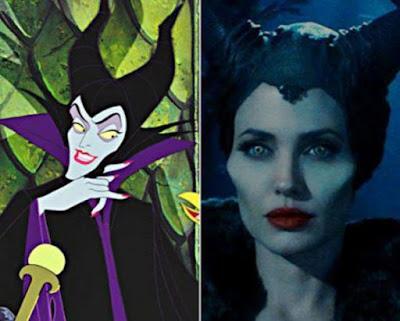 Angelina Jolie Mirip Tokoh Kartun