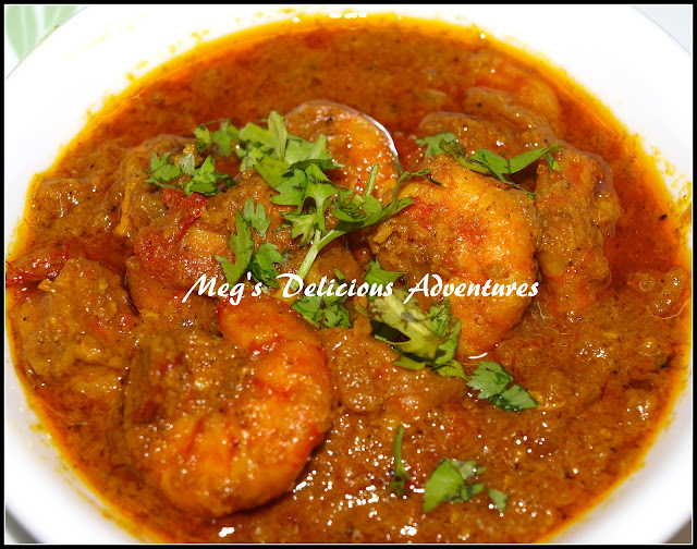 Prawn / Shrimp Curry (Kolumbiche Kalvan)