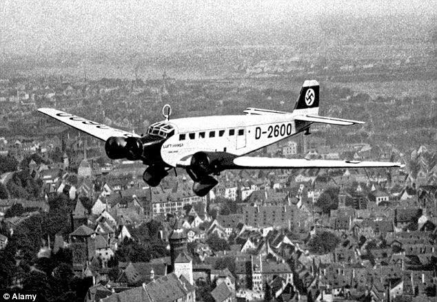 Pesawat Nazi Yang Hilang Semasa Perang Dunia Ke-2 Ditemui Setelah 70 Tahun