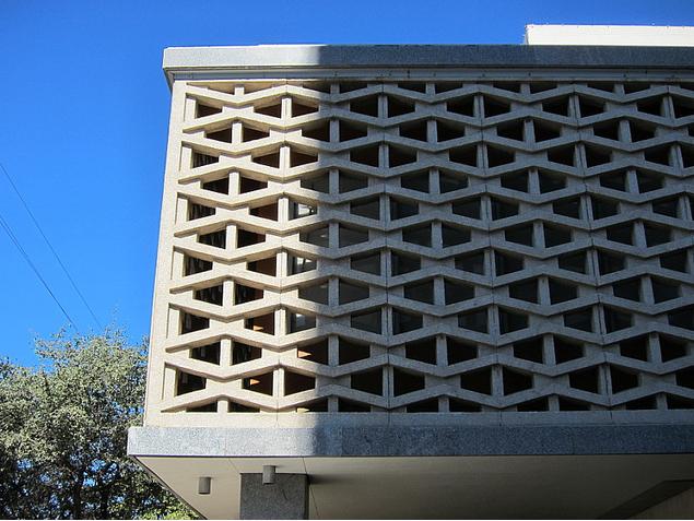 Decorative Concrete Block : Modern mid century decorative concrete blocks