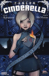 Book cover of Cinderella: From Fabletown With Love by Chris Roberson and Shawn McManus