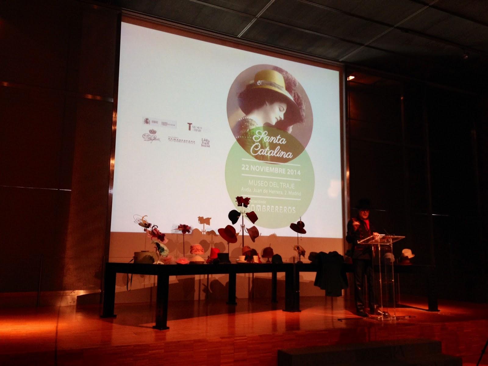 Pregón del día de Santa Catalina por Juan Pablo Silvestre en el Museo del Traje