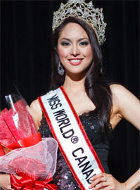 miss world canada 2011,riza santos