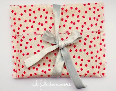 Embalagem de tecido para cds, lembrancinhas e presentes
