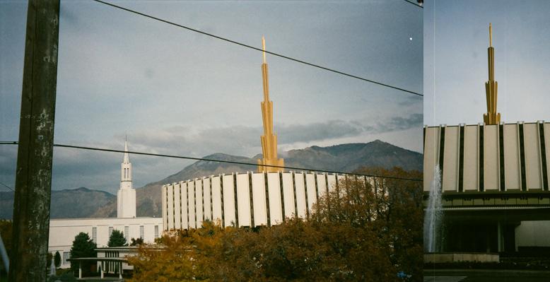 Ogden Utah Temple, October 27, 1998