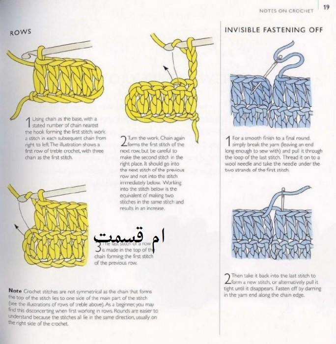 Соединение рядов вязание крючком 236