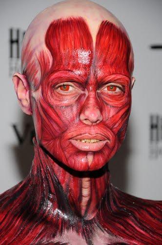 Heidi klum body paint halloween commit