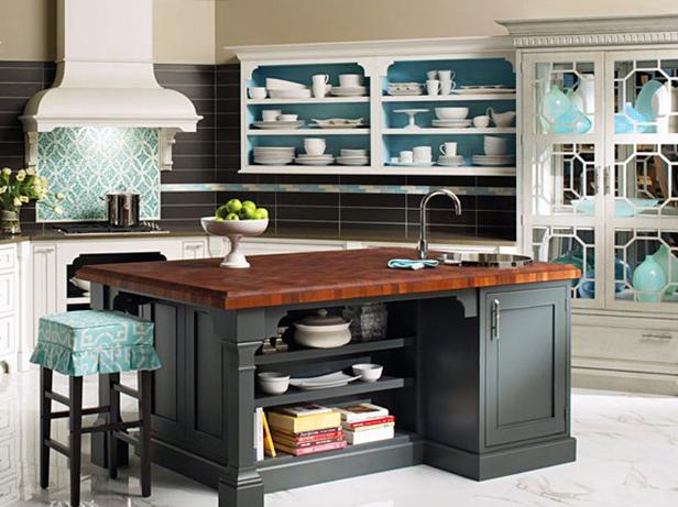 Deco chambre interieur id es des tag res de cuisine - Idee etagere cuisine ...