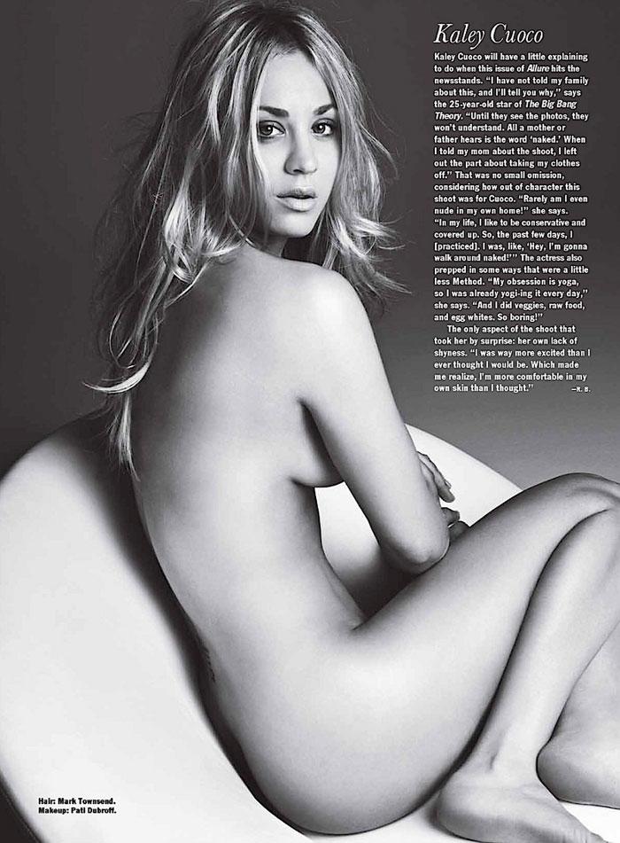 En El N Mero Tambi Aparecen Desnudas Kaley Cuoco Keri Hilson Y
