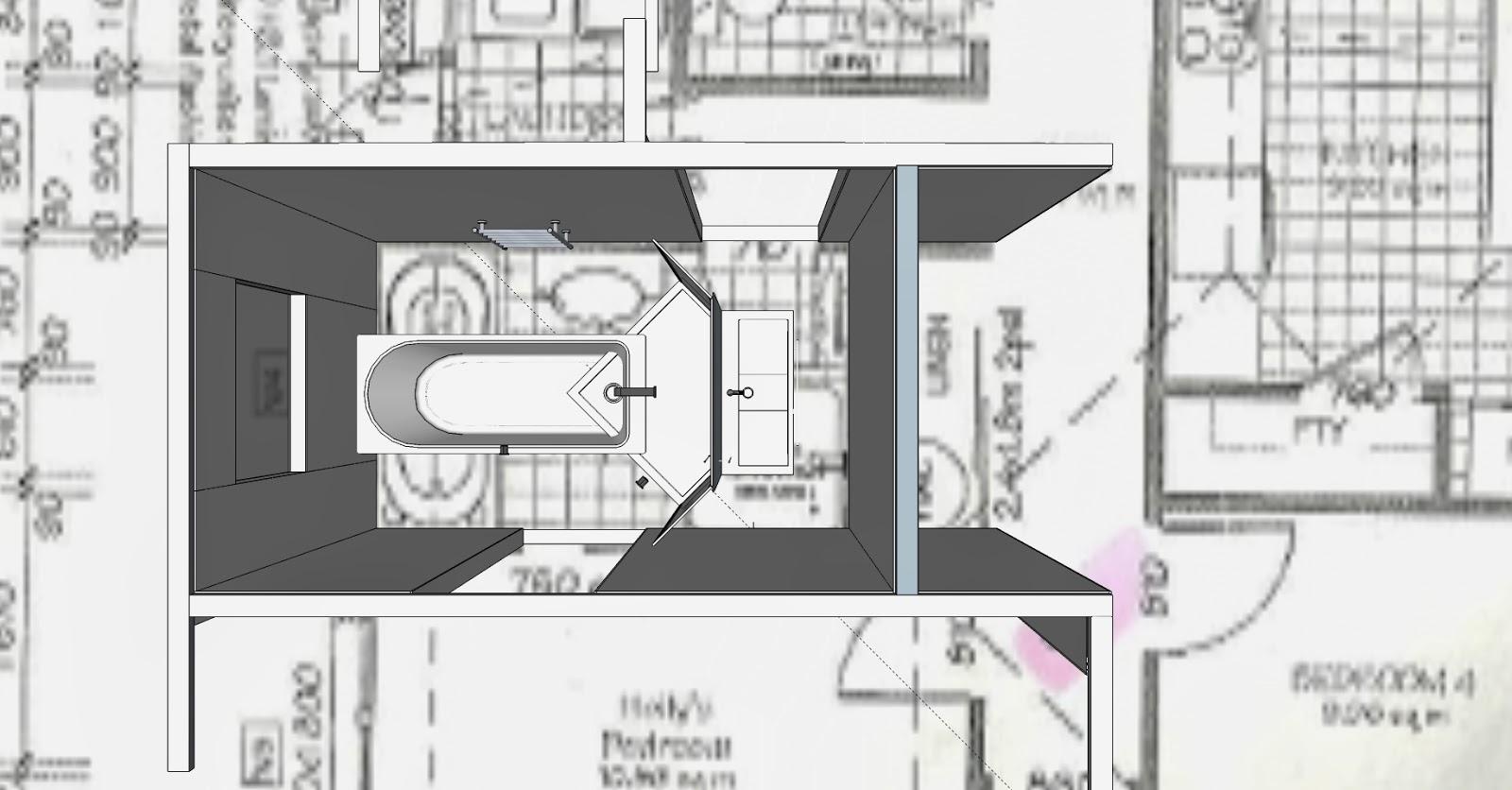 Lorna Smith: Design Portfolio: The Bath Room - Layout Case Studies