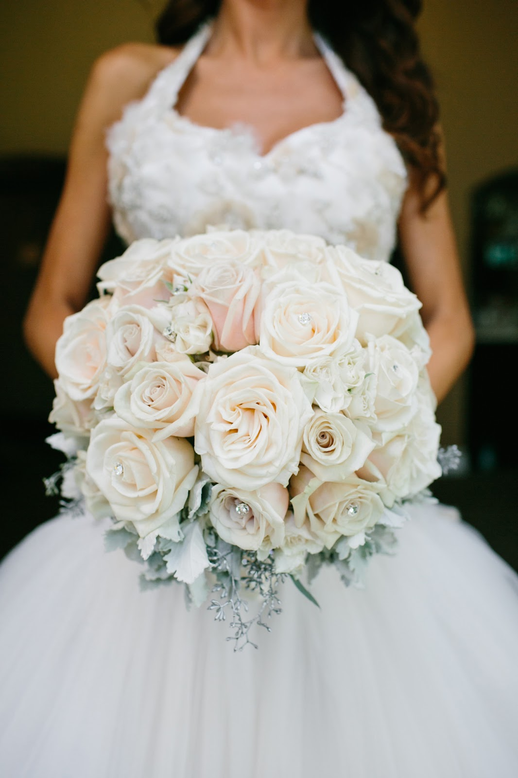 White Wedding Flowers July : Calamigos ranch malibu wedding christmas in july