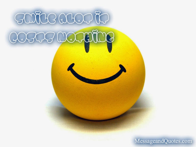 Smile messages and quotes