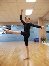 Dance Class Ballet Boy Barefoot
