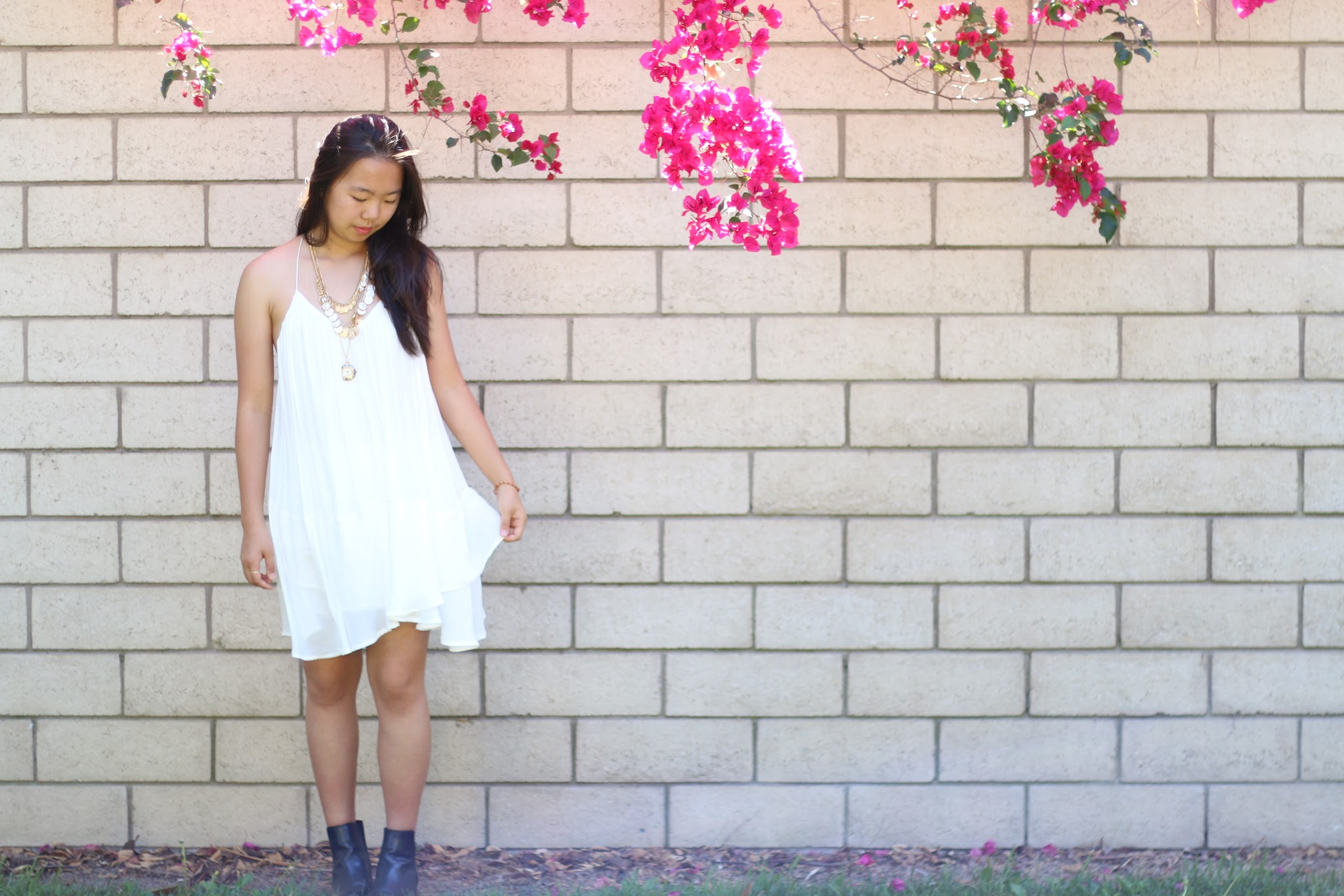 outfit of the day, style, dress, forever 21, tumblr, fashion blogger
