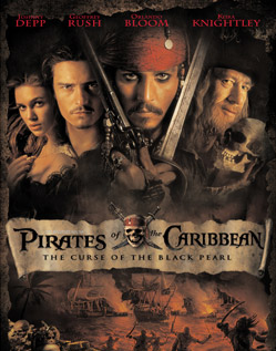 DVD Challenge #6: PIRATES OF THE CARIBBEAN: THE CURSE OF THE BLACK PEARL