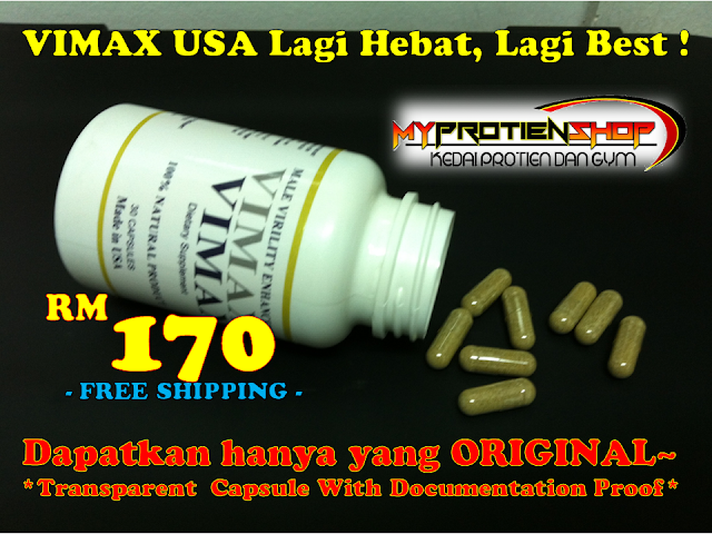 my protein shop vimax usa 100 original