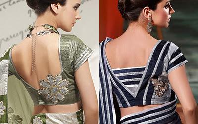 Blouse Backside Design Images 28