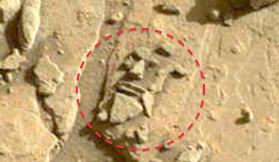 A face sculpture found on mars proof the xenologist