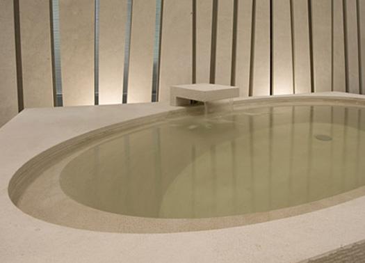 Tanti stili diversi per la vasca da bagno - Vasca da bagno in pietra ...