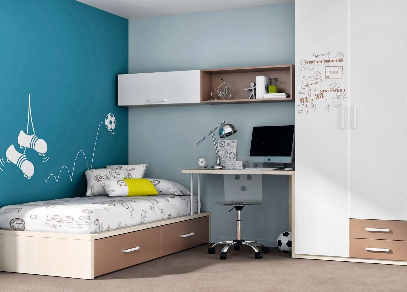 Divi rtete pintando tu habitaci n juvenil - Como pintar dormitorio juvenil ...