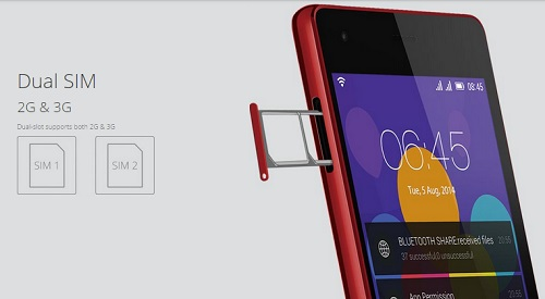 جوال انفينكس زيرو 2 يدعم شريحتى اتصال SIM