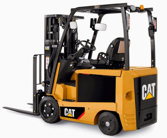 Salah satu model CAT Forklift