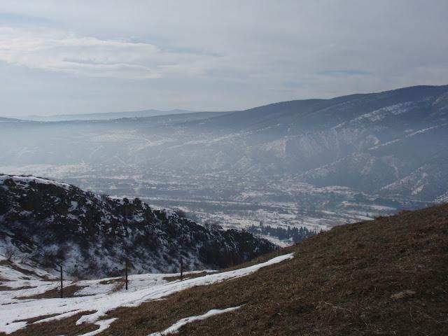 Долина, дорога в Гудаури