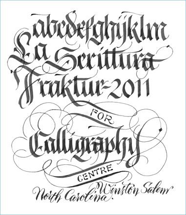 Fraktur Gothic Black Letter
