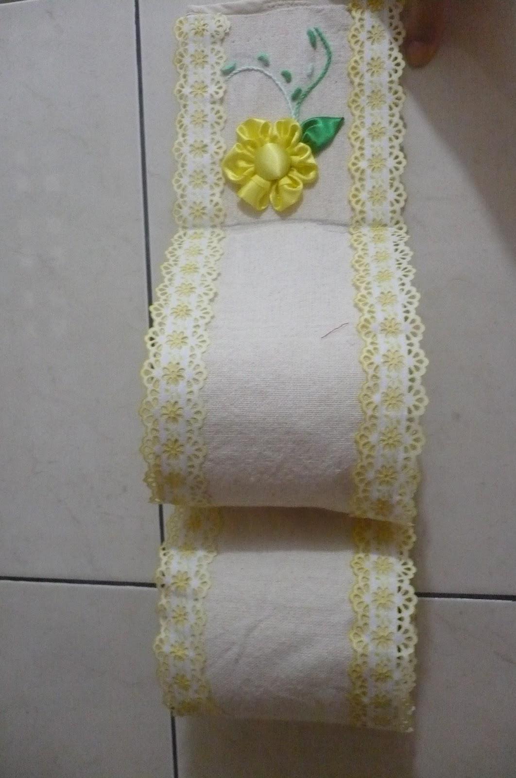 Fazendo arte porta papel higi nico for Colgadores para papel higienico