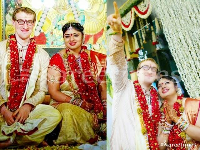 Mv Srinivas Prasad And Actress Vijayashanti Wedding Pictures