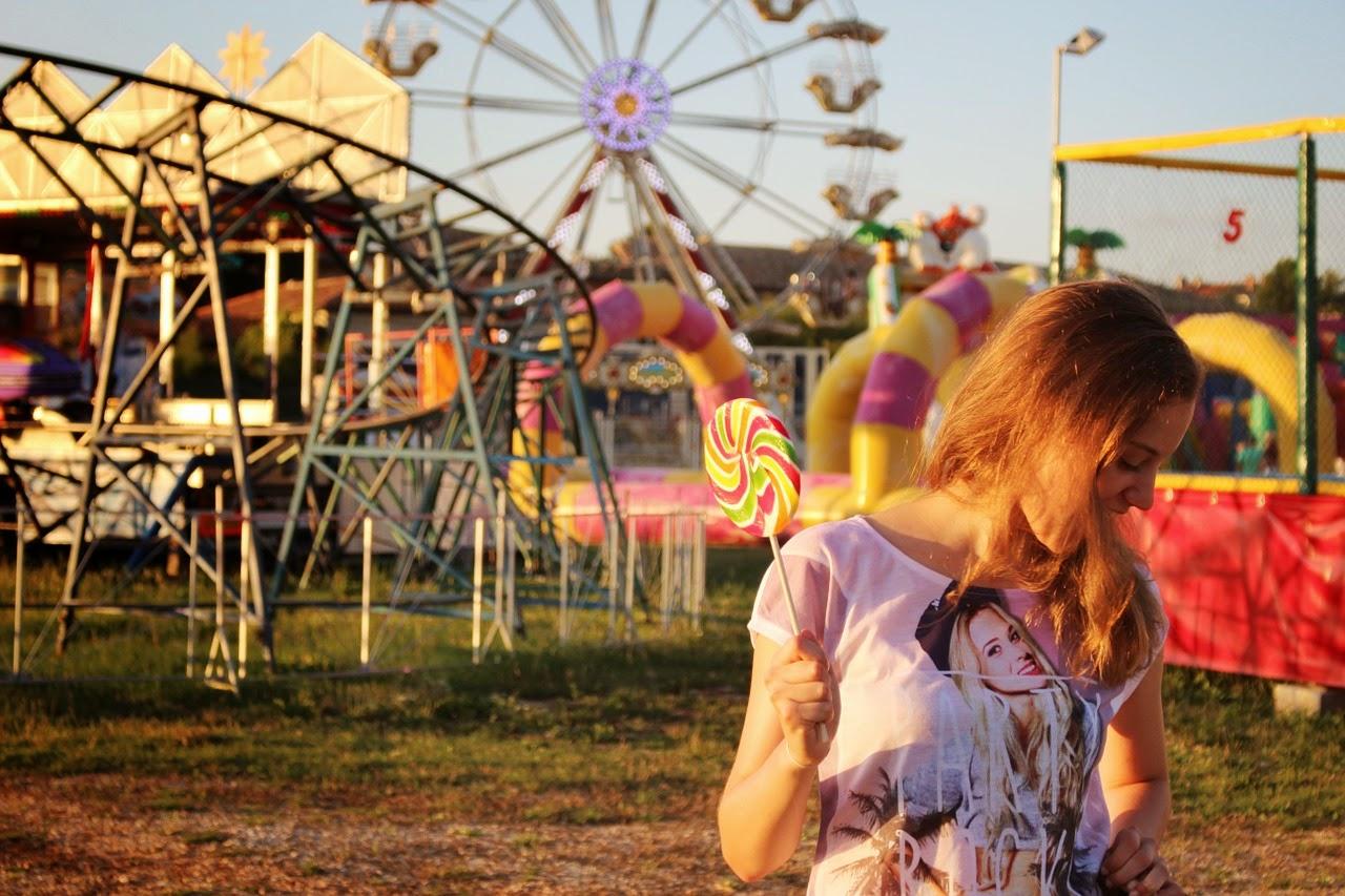 Fairground Girl lollipop