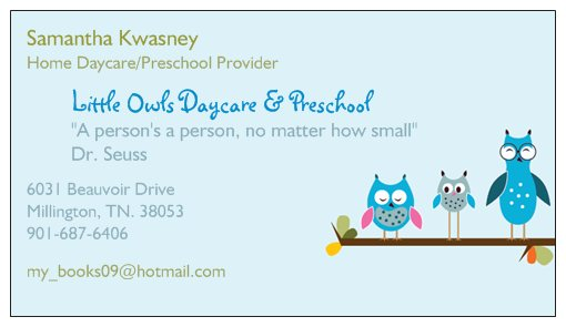 Little Owls Home Daycare Preschool