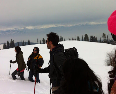 More On Location stills from movie 'Yeh Jawani Hai Deewani'.