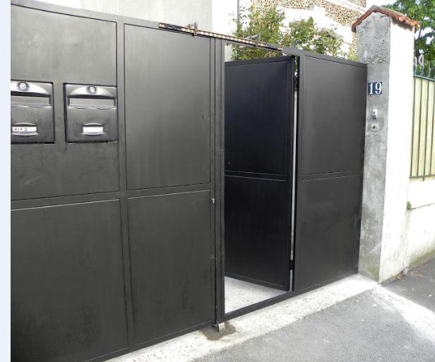 Le blog de super castor un nouveau portail - Portail automatique ouverture exterieure ...