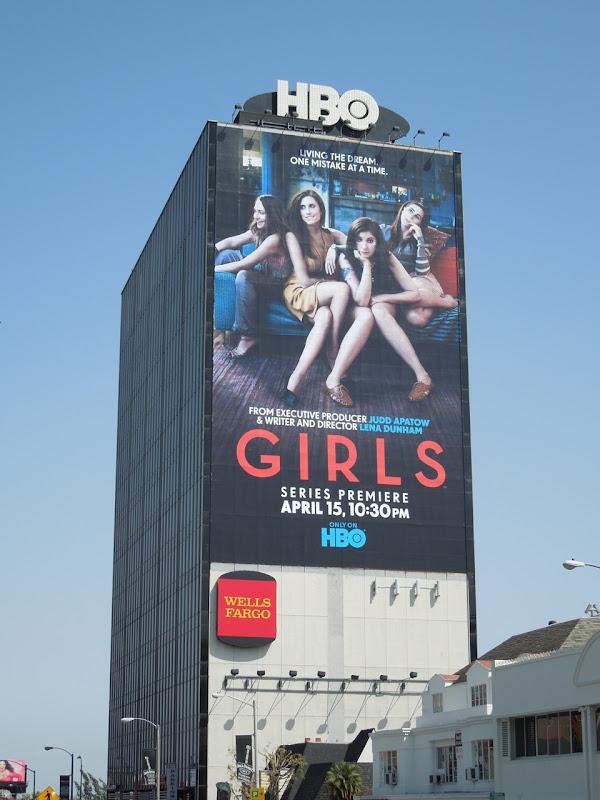 Giant Girls HBO billboard