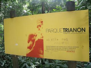 Metrô Trianon Masp - Parque Trianon (Tenente Siqueira Campos)