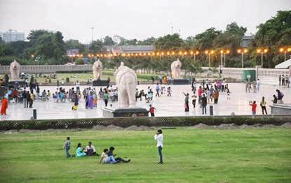 Dalit Prerna Sthal, Noida finally opened to public on Gandhi Jayanti, October 02, 2013