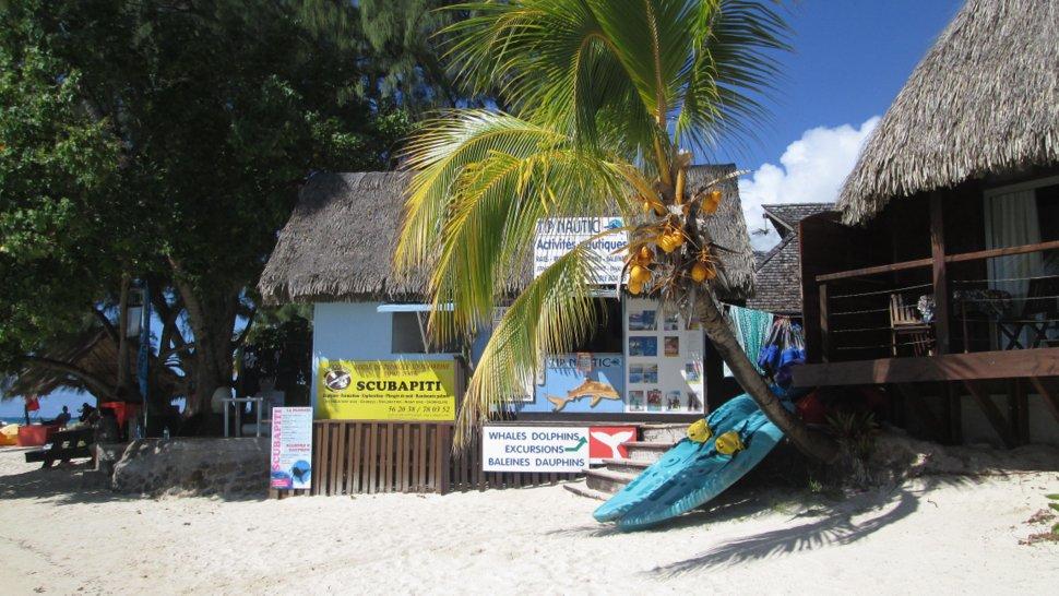 Location de matériel pour des activités nautiques sur la plage des Tipaniers à Moorea - Hauru